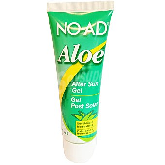 NO-AD After sun gel Aloe para después del sol calmante y refrescante Tubo 100 ml