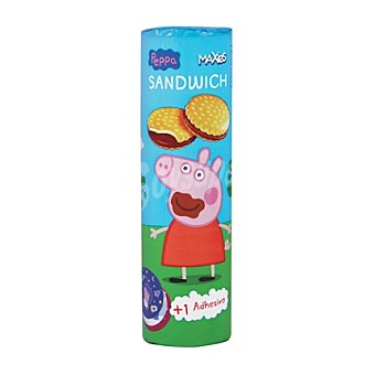 Peppa pig Galleta rellena de chocolate 240 g