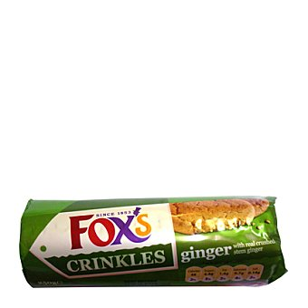 Fox´s Galletas crinkle crunch ginger 250 g