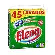 Detergente para lavadora en polvo para ropa blanca Paquete 2,79 kg (45 lavados) Elena