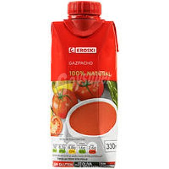 Eroski Gazpacho Nat 3x330 Ml