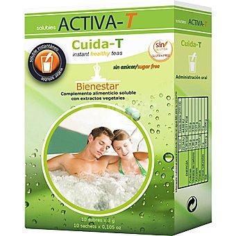 Activa-T Solubles Instantáneos, Cuida-T, Bienestar sin azúcar 10 sobres