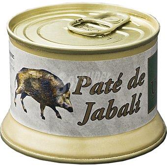 MONTES UNIVERSA Paté de jabalí trufado Lata 130 g