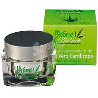 LIXONE Nature Crema regeneradora de aloe certifica Tarro 50 ml