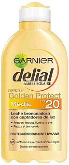 Delial Garnier Delial Leche Solar Golden Protect F-20 200 ml