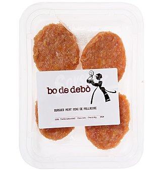 Bo de Debò Burguer mini pollo X4 140 G