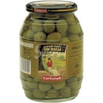 Carbonell Aceitunas con hueso Frasco 600 g