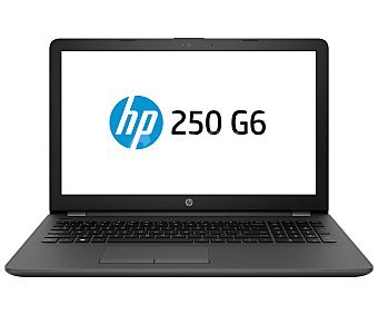 "HP 250 G6 Portátil 15.6"" Intel Core I3-6006U, 4GB Ram, 500GB, HD Graphics 520, Windows 10."