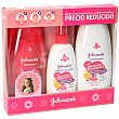 Baby pack gotas de brillo champú + acondicionador + spray peinado  Johnson's