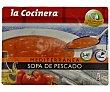 Sopa de pescado Mediterranea 500 g La Cocinera