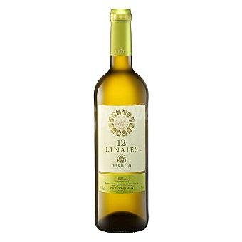12 Linajes Vino blanco D.O Rueda viejo 75 cl