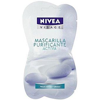 Nivea Mascarilla purificante activa Visage Envase 15 ml