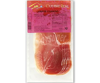 CUMBRE REAL Jamón curado en lonchas 100 gramos