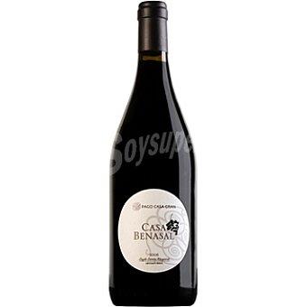 CASA BENASAL Vino tinto merlot syrah Monastrel y cabernet sauvignon de Valencia ecológico Botella 75 cl