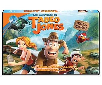 Paramount Película en Dvd Las aventuras de Tadeo Jones, edición horizontal. Género: infantil, animación, aventuras. Edad: TP