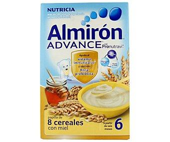 Almirón Nutricia Papilla de 8 cereales con miel a partir de los 6 meses 500 gramos