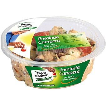 PIERRE MARTINET Ensalada campera con patata, atún, tomate y aceitunas Envase 250 g
