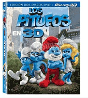 LOS PITUFOS Combo br 3D