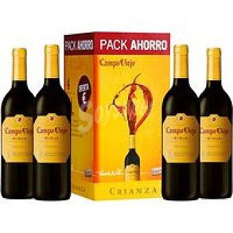 Campo Viejo Vino Tinto Crianza Pack 3+1x75 cl