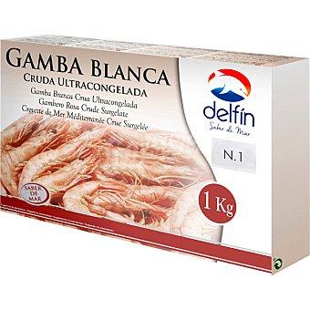 Delfín Gamba blanca cruda 70/100 piezas estuche 1 kg estuche 1 kg