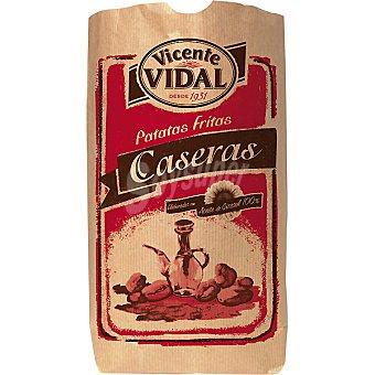 Vicente Vidal Patatas fritas caseras en aceite de girasol Bolsa 260 g