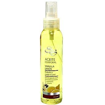 S&S Aceite corporal Vainilla Limón de aguacate y karité spray 125 ml hidrata u cuida la piel Spray 125 ml