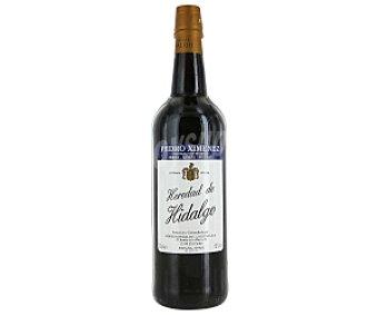 HEREDAD DE HIDALGO Vino fino de Jerez Pedro Ximenez Botella de 75 Centilitros