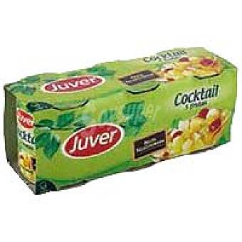 Juver Cocktail de frutas Pack 3x225 g