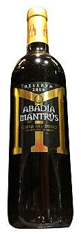 Abadia Mantrus Vino tinto ribera duero reserva Botella 750 cc