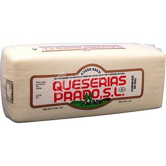 Prado Queso en barra para sándwich edam 100 gramos