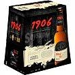 Cerveza 1906, pack botellín 6x33 cl  1906