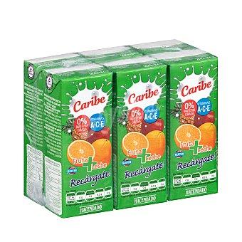 Hacendado Frutas+leche caribe (brick verde) 6 x 200 ml