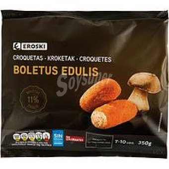 Eroski Croquetas de boletus Bolsa 350 g