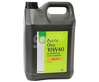 Productos Económicos Alcampo Aceite semi sintético para vehículos diésel 5 Litros