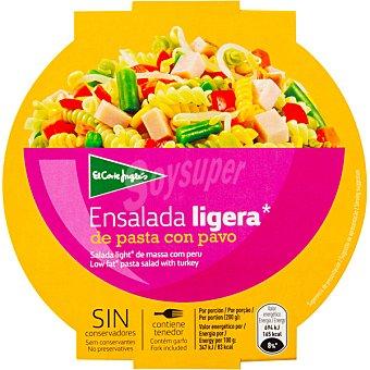 Aliada Ensalada ligera de pavo con pasta bol 200 g