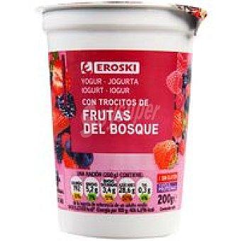 Eroski Yog.Frutas Bosque 200 g