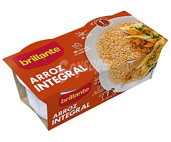 Brillante Arroz integral Pack 2x125 g