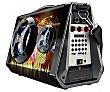 Altavoz portátil 40W, Bluetooth, Usb, microsd, Aux-In, radiofm, función karaoke APM90D  Sakkyo