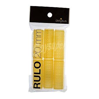 Deliplus Rulo cabello 20MM. Paquete 6 u
