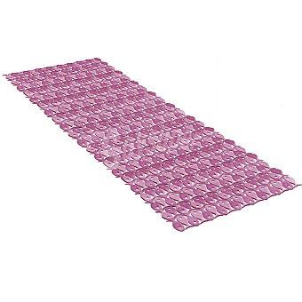 Tatay Alfombra baño en PVC en color berenjena 97 x 36 cm