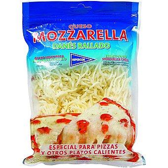HIPERCOR queso mozzarella rallado bolsa 200 g