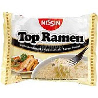 NISSIN Top Ramen de pollo Sobre 85 g