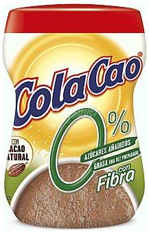 Cola Cao Cola Cao 0% azúcares con fibra Envase 300 g