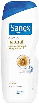 Sanex Gel de ducha dermo natural para piel seca 600 ml