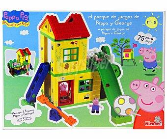 SIMBA Parque de Juegos de Peppa Pig y George 1 Unidad