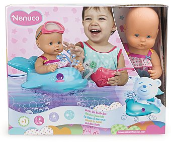Nenuco Muñeco Nenuco Baño de Burbujas 1 Unidad