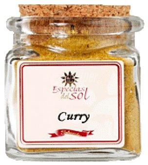 Especias del sol Curry gourmet frasco 40 g