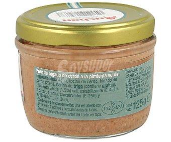 Auchan Paté a la pimienta, tarro 125 gramos