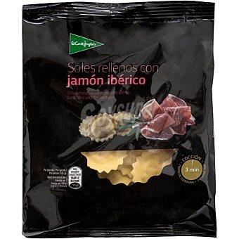 El Corte Inglés Soles rellenos con jamón ibérico Envase 250 g