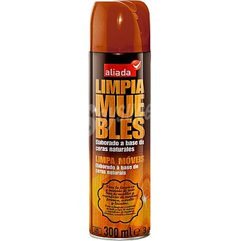 Aliada Limpia muebles elaborado a base de ceras naturales Spray 405 ml